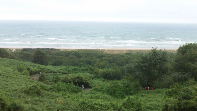 Omaha Beach Overlook