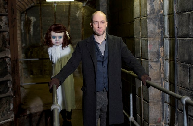 Thorpe park announce Derren Brown's collaboration 'Derren Brown's Ghost Train' which will reinvent the classic theme park attraction for the 21st Century. Pix: TIM ANDERSON