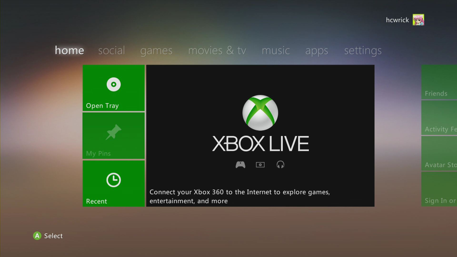 hight resolution of setting the video output on the xbox