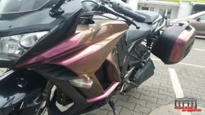 Motorrad Flip Flop