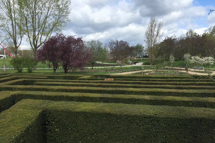 IGA Berlin 2017 Labyrinth