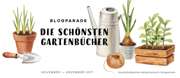 Blogparade | Die schönsten Gartenbücher. Banner quer