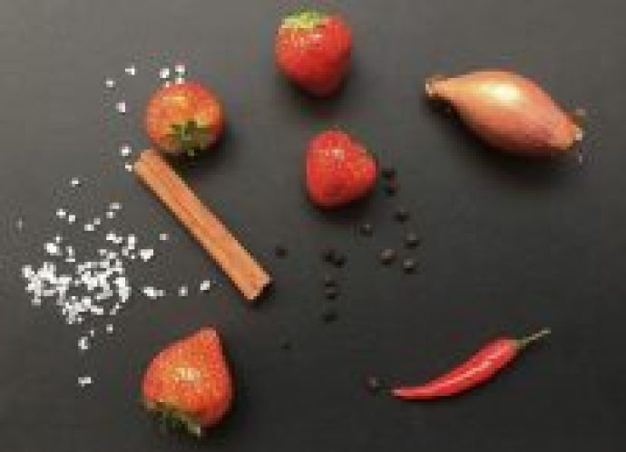 Erdbeer Chutney zum Grillen
