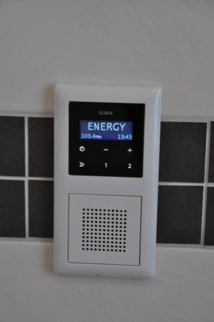 Erfahrungen mit Gira UP  Unterputzradio von Gira per Bewegungsmelder einschalten  Hausbau Blog