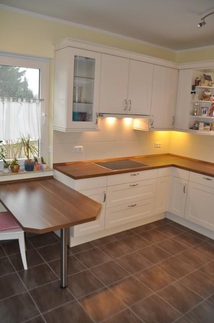 Nobilia Lucca Magnolia  Fotos unserer Landhauskche mit Schiebetr  Hausbau Blog