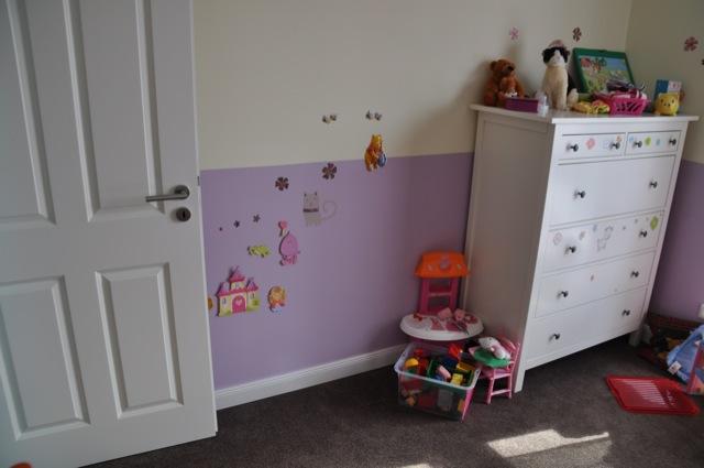 Ideen Wandgestaltung Mit Farbe Handgemalte Motive Im Kinderzimmer,  Innenarchitektur Ideen