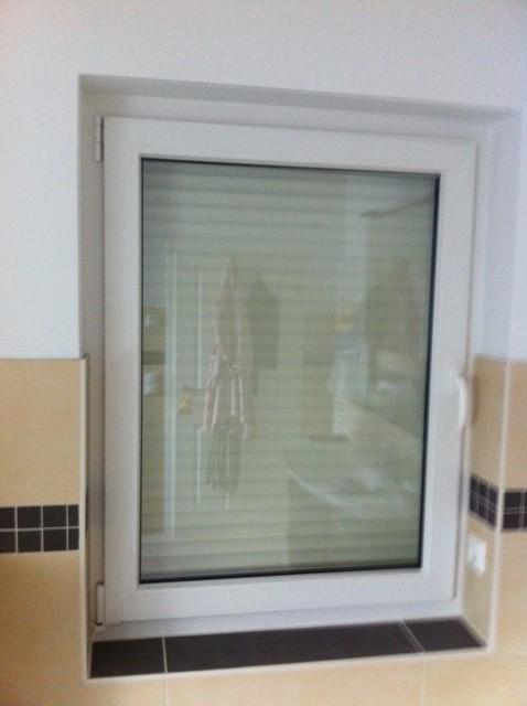 Plissee oder Rollo  Sichtschutz frs Badezimmer