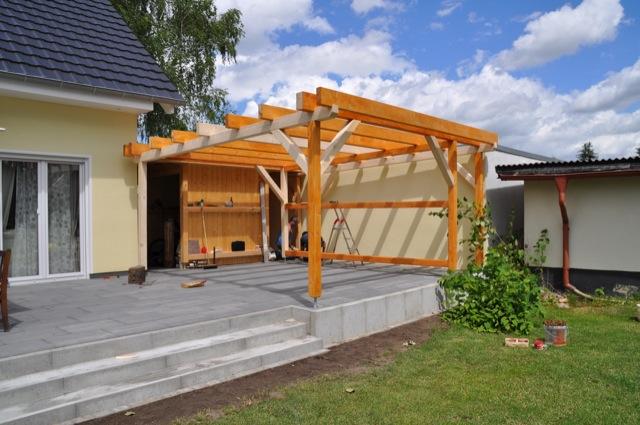 Planung Terrassenüberdachung & Carport Zum Selber Bauen Hausbau Blog