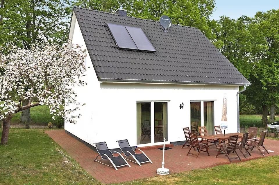 Ferienhaus Kiebitz in Plau am See gnstig buchen  Haus