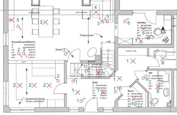 Elektroplan Haus Zeichnen — Bosch