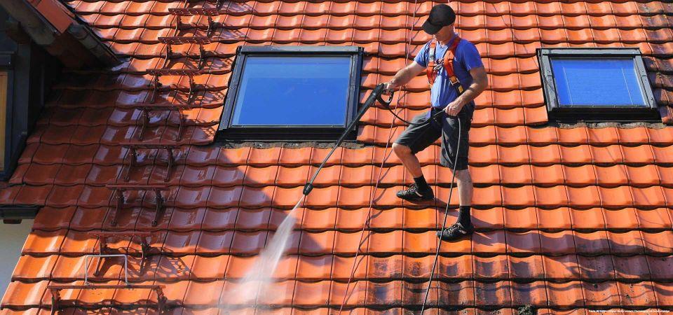 Fachmännische Dachreinigung in Hamburg