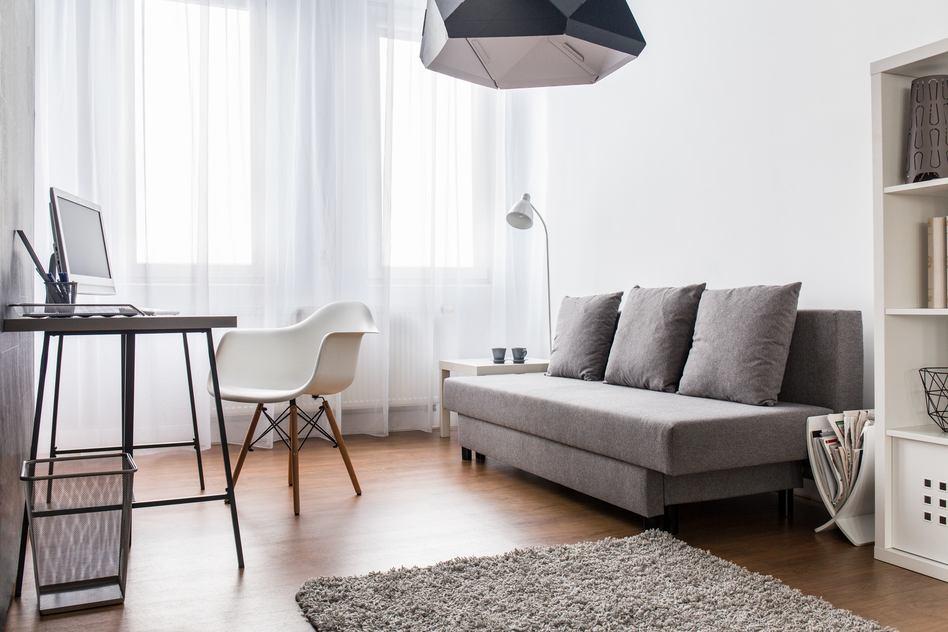 Wohnzimmer einrichten in GrauWei