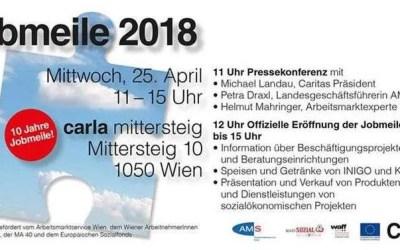 Die 10. Jobmeile der Caritas Wien