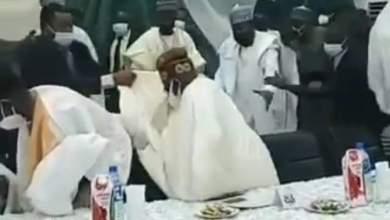 Photo of Bidiyo : Bola Ahmad Tinubu ya yanke Jiki ya Fadi a wajen taro a kaduna
