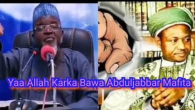 Halinda Abduljabbar Yake Ciki Yaa Allah Karka bashi Mafita (Munafukai) - Sheikh Bello Yabo Sokoto