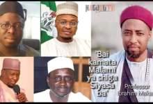 Bai Kamata Malamin Addini Ya Shiga Cikin Ƙazantar Siyasar Najeriya Ba - Prof Ibrahim Maqarfi
