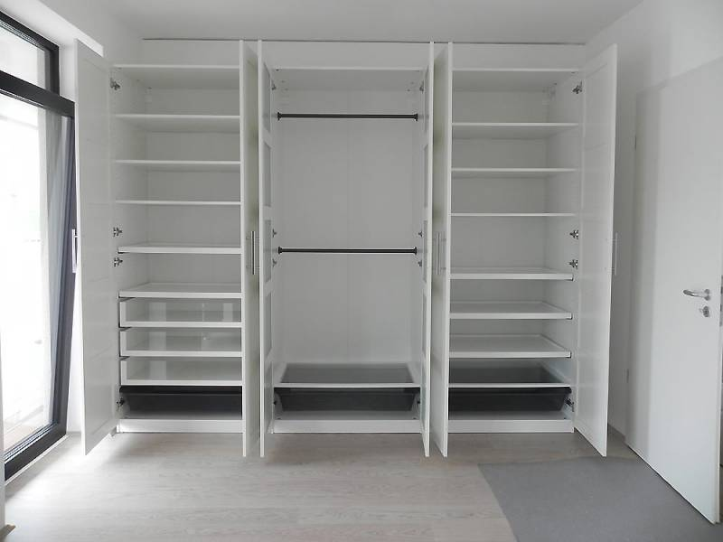 Position Scharniere Pax 236 cm Schrank Anleitung gesucht  Erfahrungen von Bauherren und