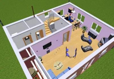 grundrisse und 3d entw rfe hausbau isorast. Black Bedroom Furniture Sets. Home Design Ideas