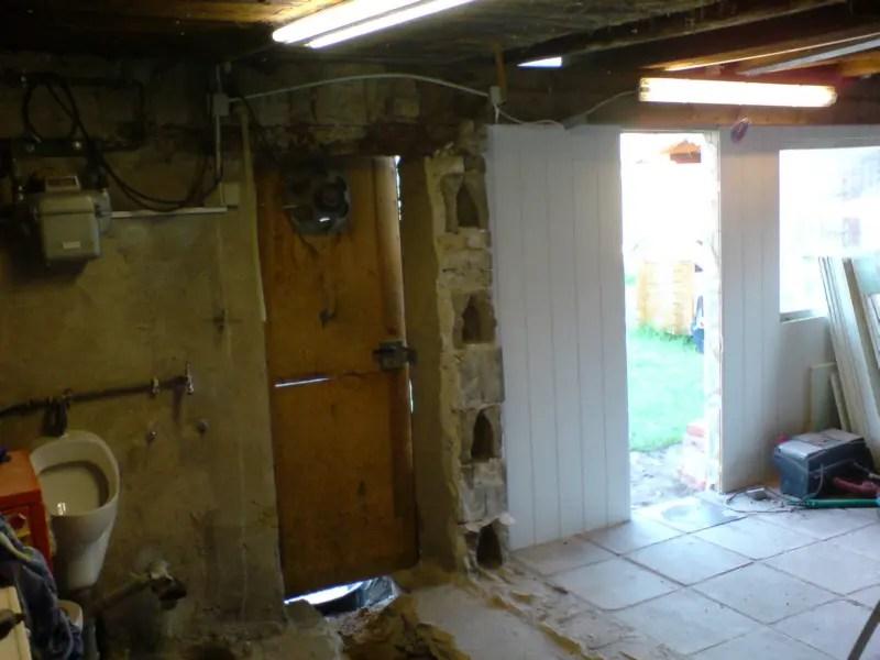 die alte Wand ist raus