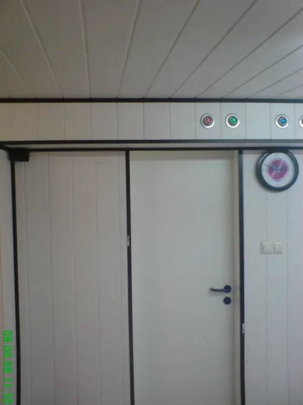 Werkstatt Wohnraum Wände verkleiden