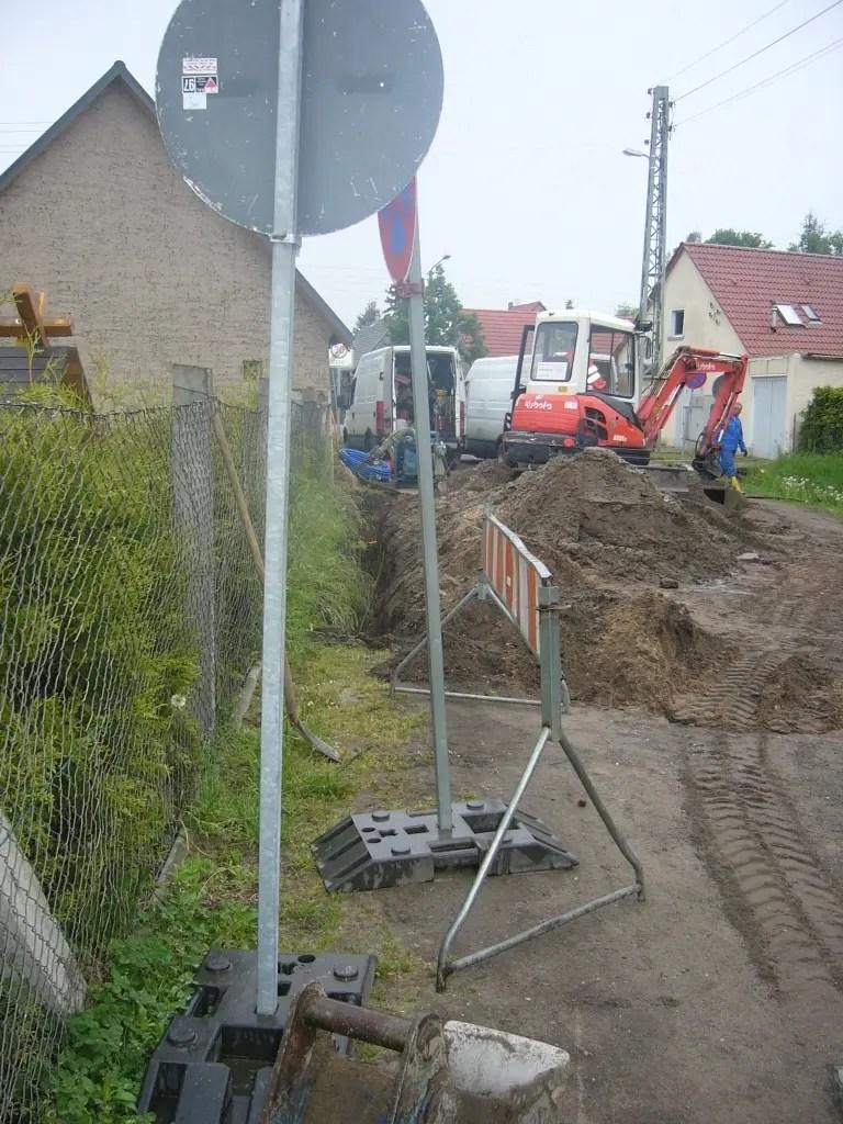 Hausbau versorgungsleitungen Strom