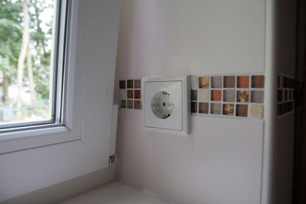 Welche Anzahl Steckdosen im Haus Beispiel der Anzahl je