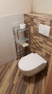 Holzfliesen-Gäste-WC