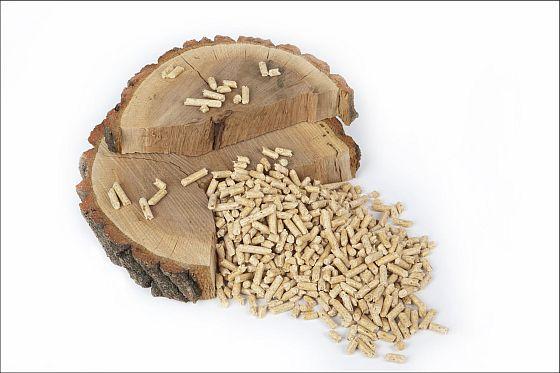 Holzpellets sind eine besonders umweltschonende Heizalternative: Sie werden größtenteils aus Abfallprodukten der Sägewerksindustrie hergestellt und verbrennen zudem CO2-neutral. (Foto: djd/Initiative Holz und Pellets)