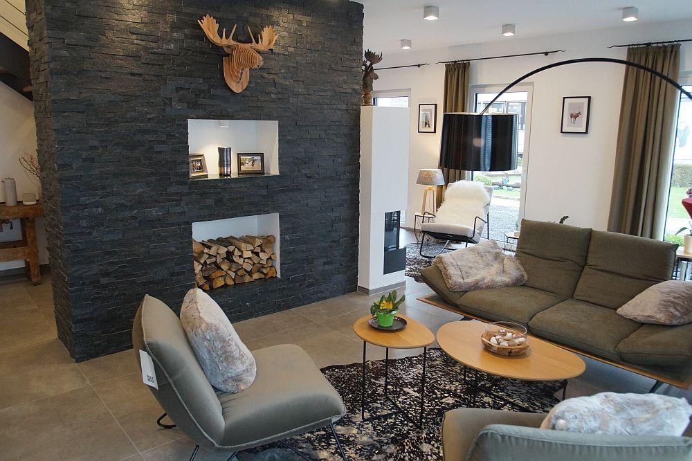 der hirsch ist zur ck neuer wohntrend rustikale momente mit modernen elementen kombinieren. Black Bedroom Furniture Sets. Home Design Ideas