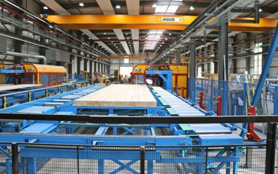 Die DFH konzentriert sich auf die Produktion von Fertighäusern in Holzrahmenbauweise. (Foto: DFH)