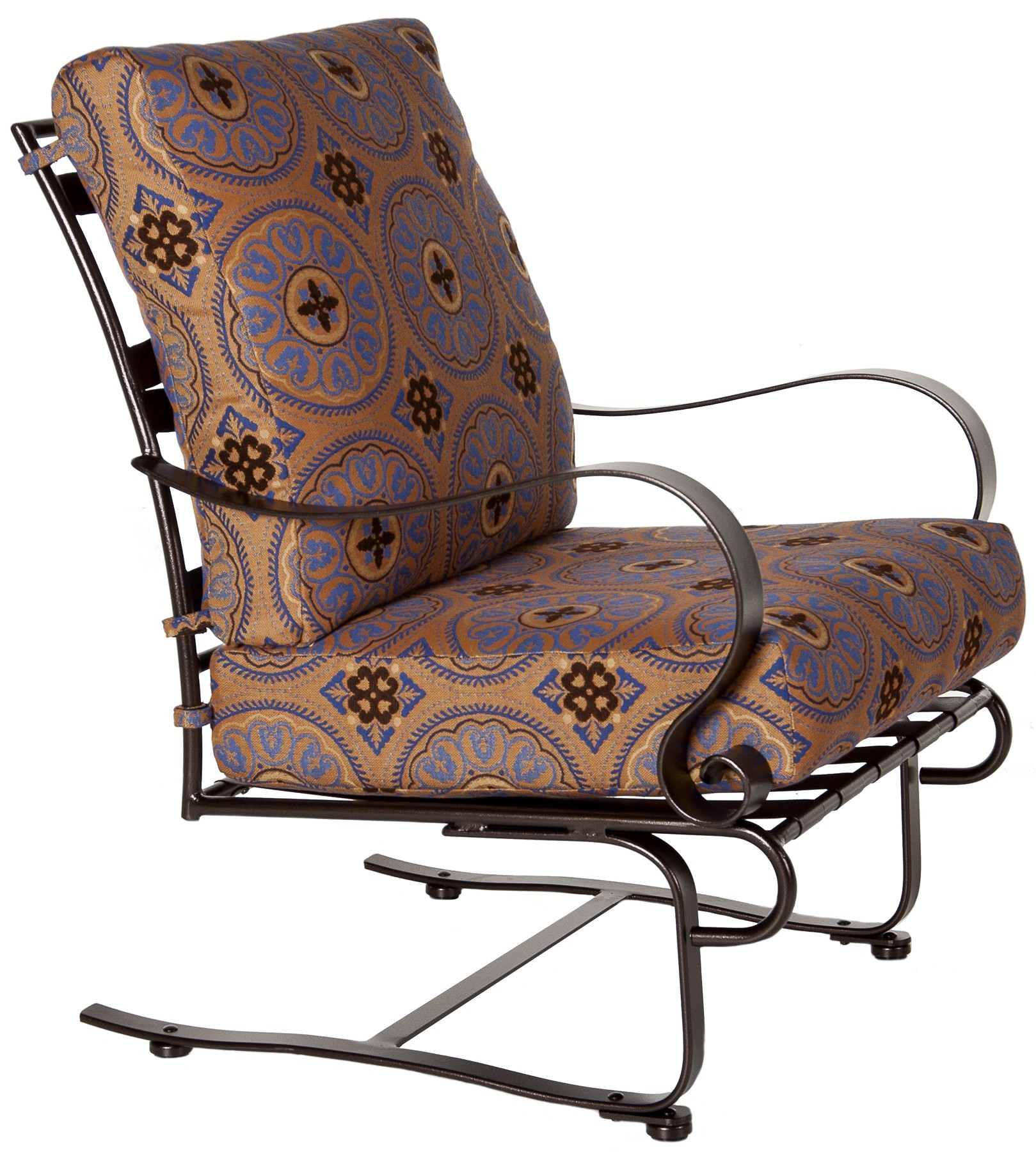 springs for chairs folding sale in bulk marquette spring base lounge chair hauser 39s patio