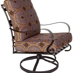 Outdoor Swivel Rocker Chair Sure Fit Slipcovers And A Half Marquette Lounge Hauser 39s Patio