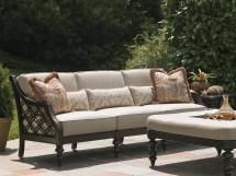 Royal Kahala Black Sands Sofa - Hauser' Patio