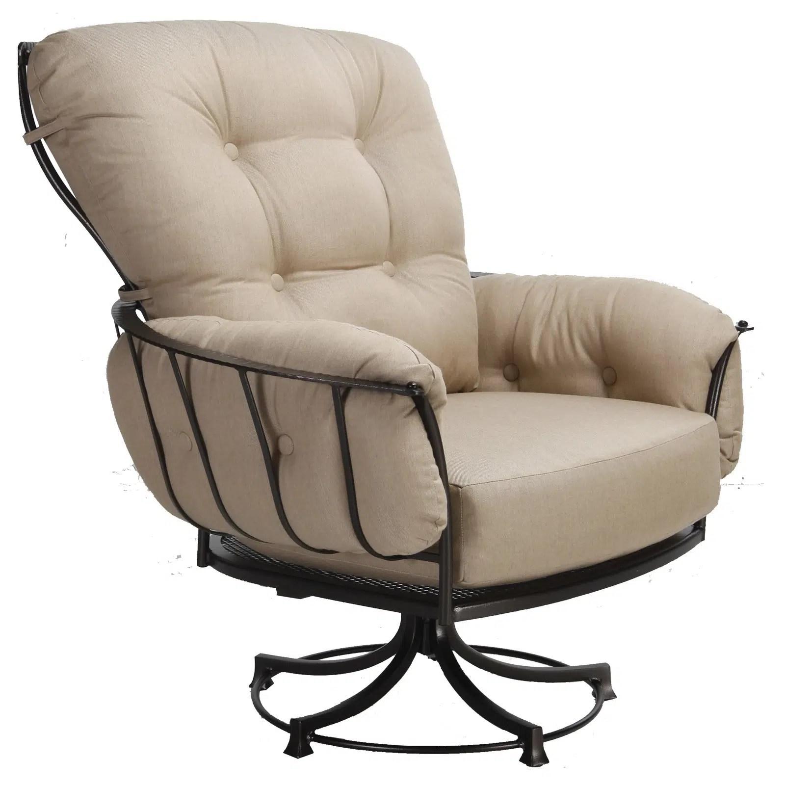 monterra swivel rocker lounge chair