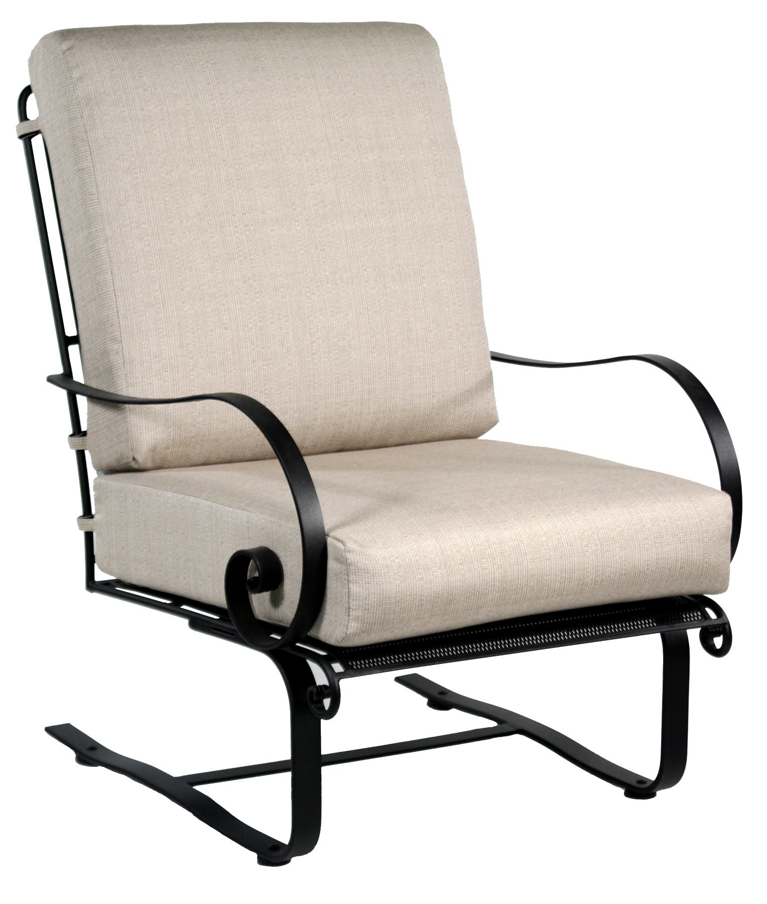 Avalon Spring Base Lounge Chair  Hausers Patio