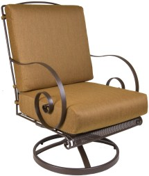 Avalon Swivel Rocker Lounge Chair - Hauser' Patio