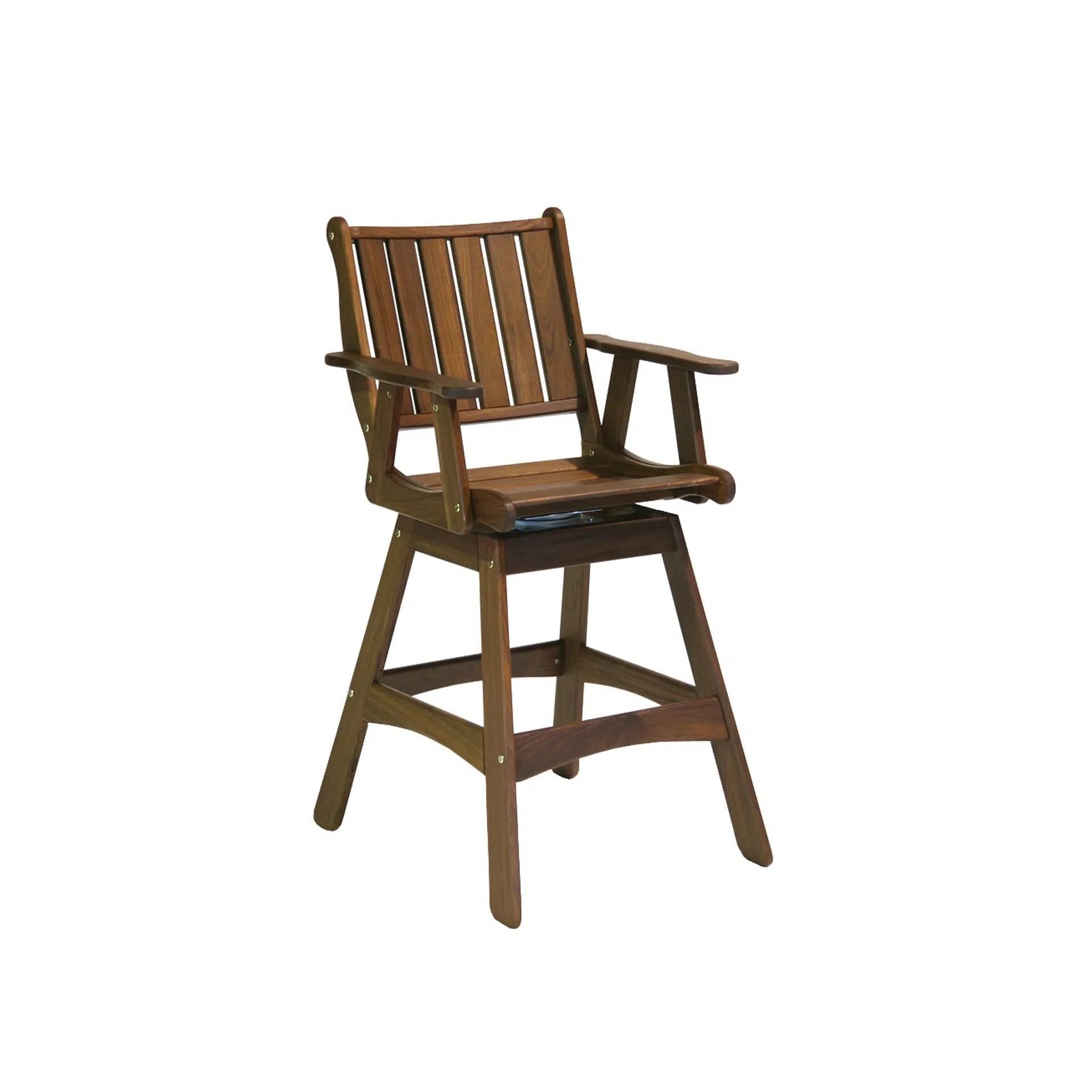integra swivel hi dining chair