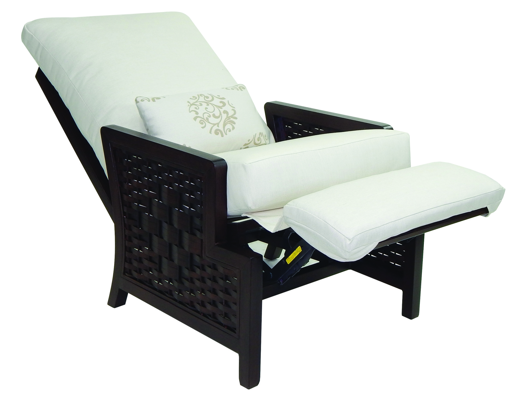 correct posture lounge chair cheap outdoor chaise chairs spanish bay cushion 3 position recliner w one