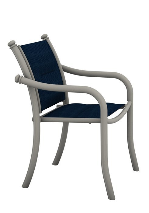La Scala Padded Sling Dining Chair LowBack  Hausers Patio