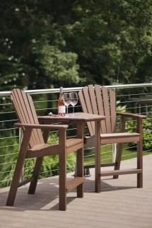 Adirondack Shellback Balcony Chair - Hauser' Patio