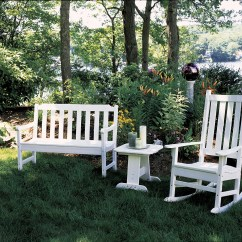 Newport Rocking Chair Covers And Sashes Essex 4 39 Bench Hauser 39s Patio