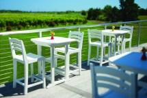 """Portsmouth 30"""" Square Balcony Table - Hauser' Patio"""
