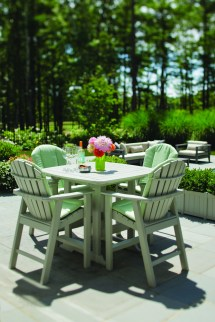 """Portsmouth 42"""" Square Balcony Table - Hauser' Patio"""