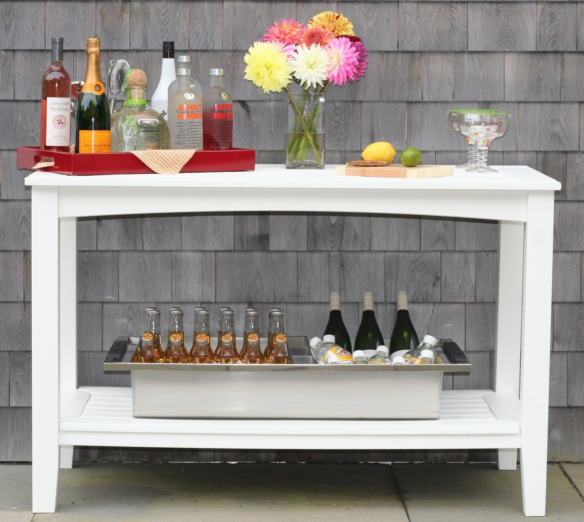 Windsor Buffet Table Large  Hausers Patio