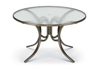 "48"" Round Dining Height Table (with Umbrella Hole ..."