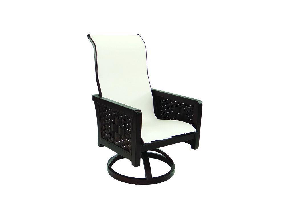 swivel chair in spanish chevalier chairs for sale bay sling rocker hauser s patio