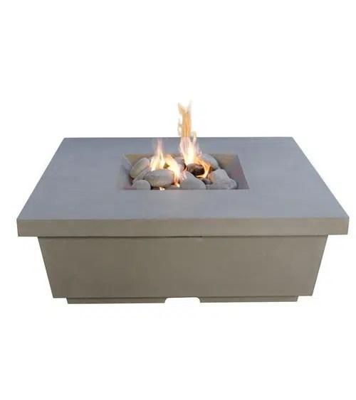contempo square fire table