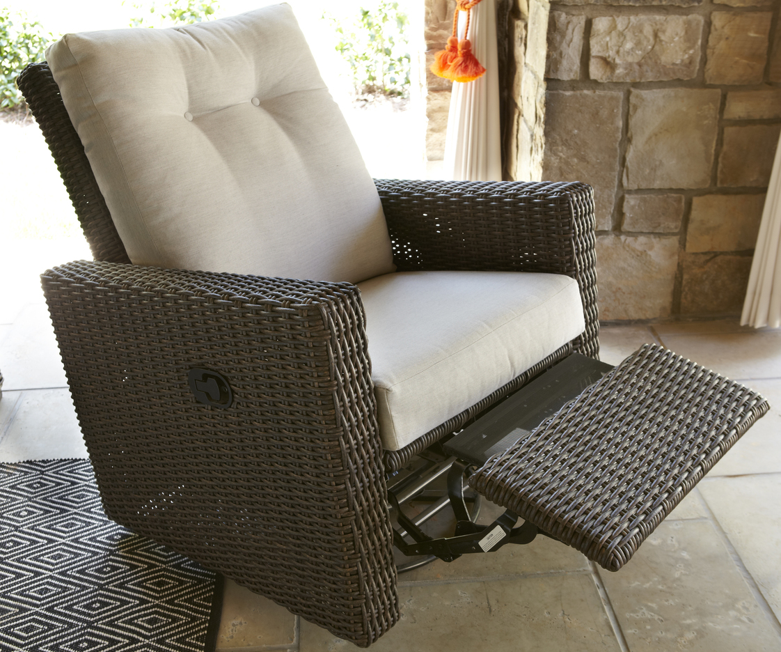 Mesa Swivel Glider Recliner  Hausers Patio