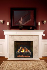 Why Upgrade to a Gas Fireplace with Realistic Logs ...