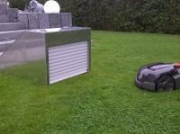 Rasenmhroboter Garage mit Rolltor jetzt gnstig online ...